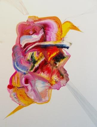 Cardenalito.40x50cm.Oil on canvas.2009