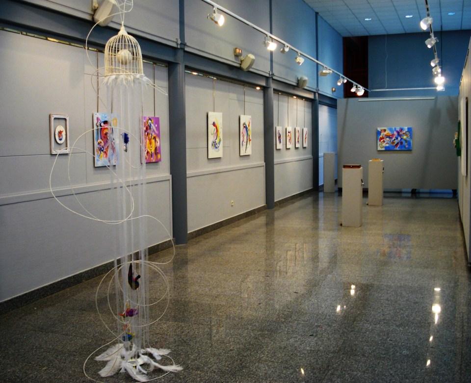 Exhibition view.Still blank 2008
