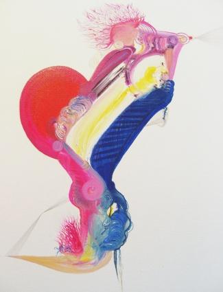 Gavilan.40x50cm.Oil on canvas.2009