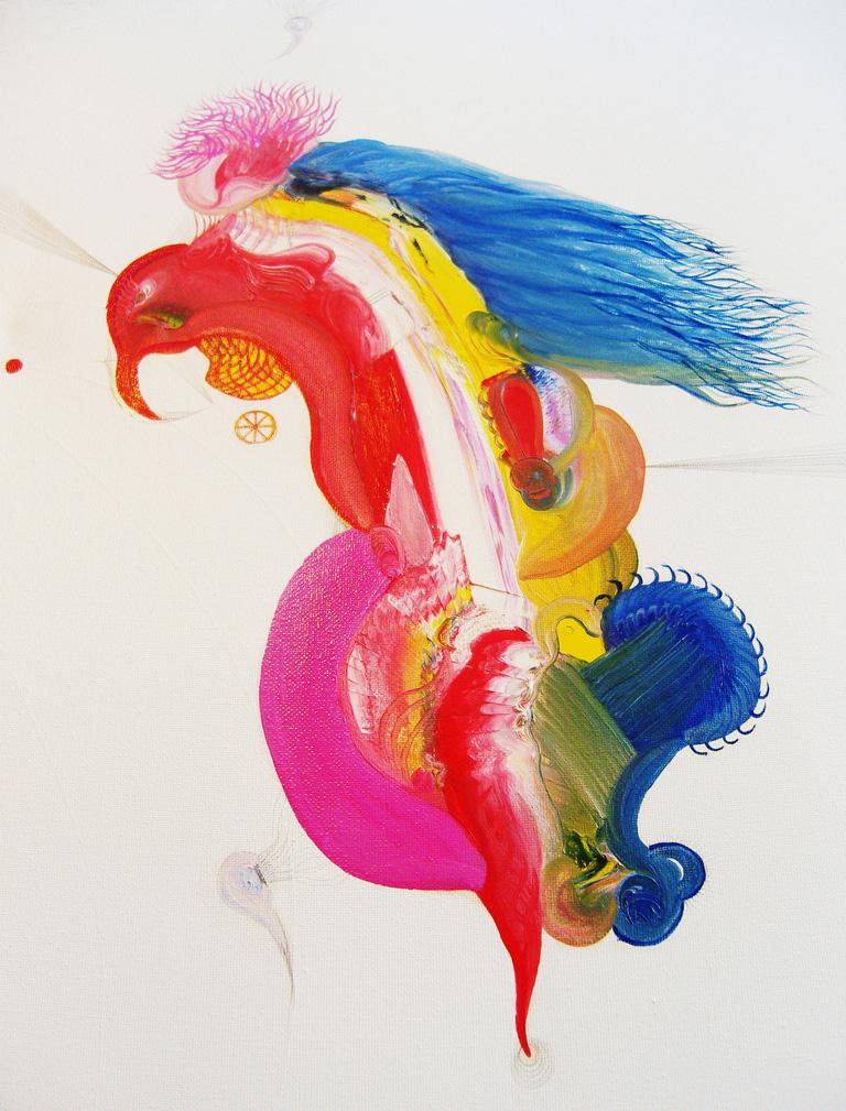 Lorito.40x50cm.Oil on canvas.2009