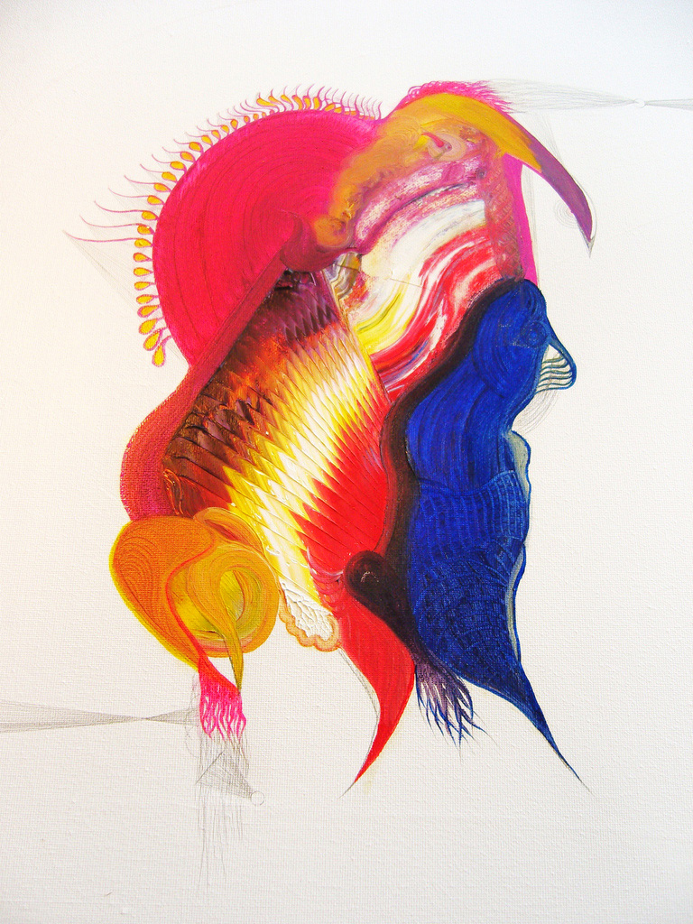 Turpial.40x50cm.Oil on canvas.2009